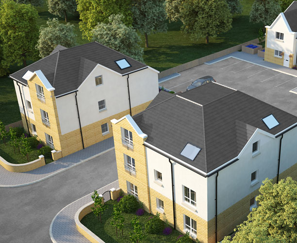3d Visualisation for a Proposed development